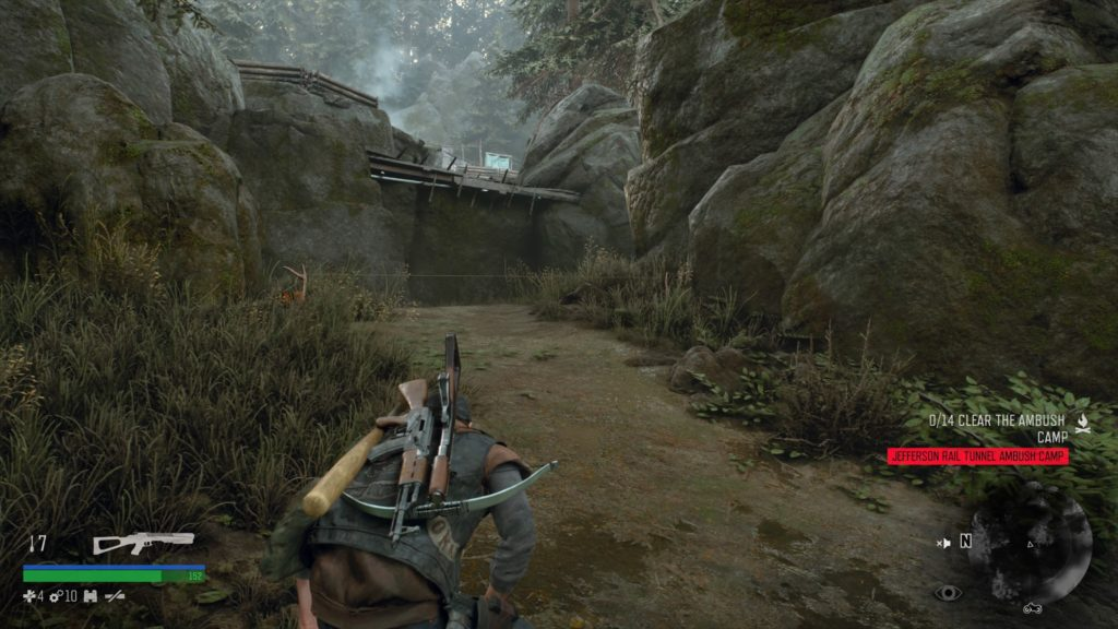 How to Infiltrate Jefferson Rail Tunnel Ambush Camp in Days Gone