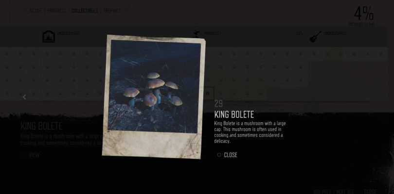 Days Gone: King Bolete Herbology Collectible Location Guide