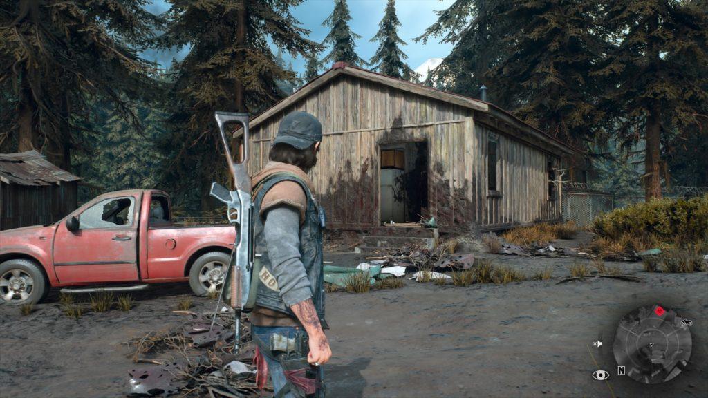 Days Gone Logging Camp Freakers Nest Location 1