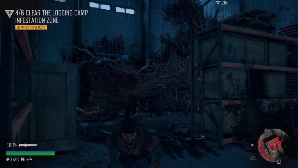 Days Gone Logging Camp Freakers Nest Location 6