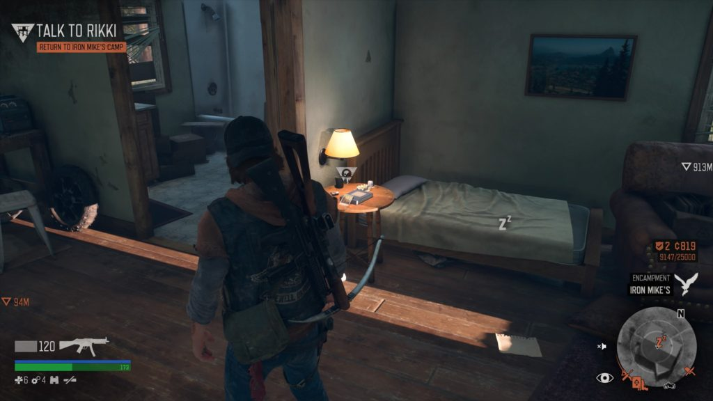 Days Gone Lost Lake Character Collectible Location 3