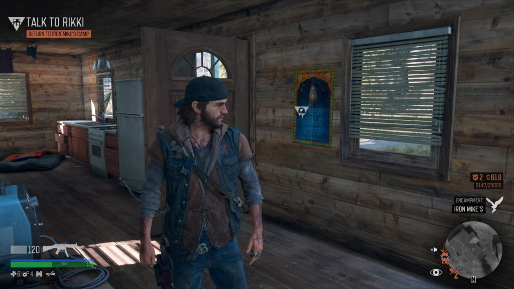 Days Gone Lost Lake Character Collectible Location 5