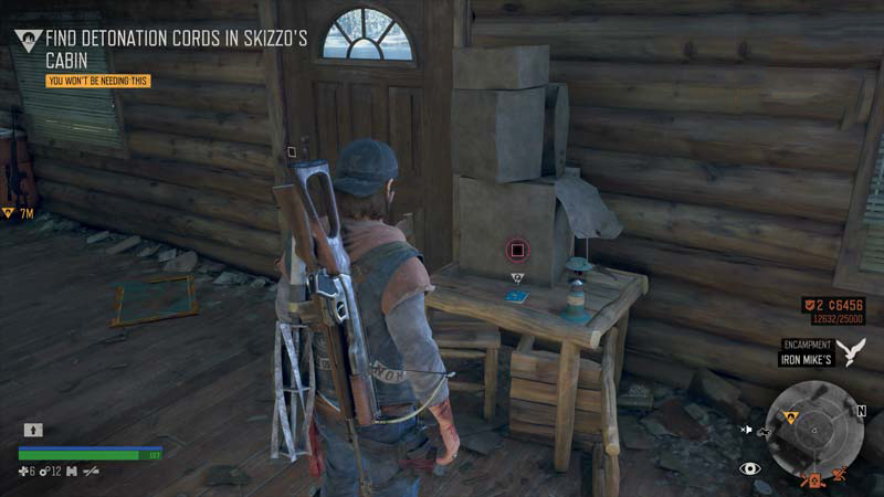 Days Gone Lost Lake Character Collectible Location 7