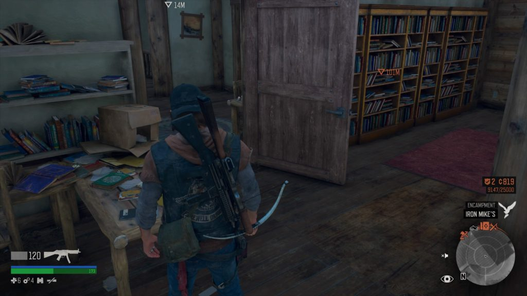Days Gone Lost Lake Character Collectible Location 8