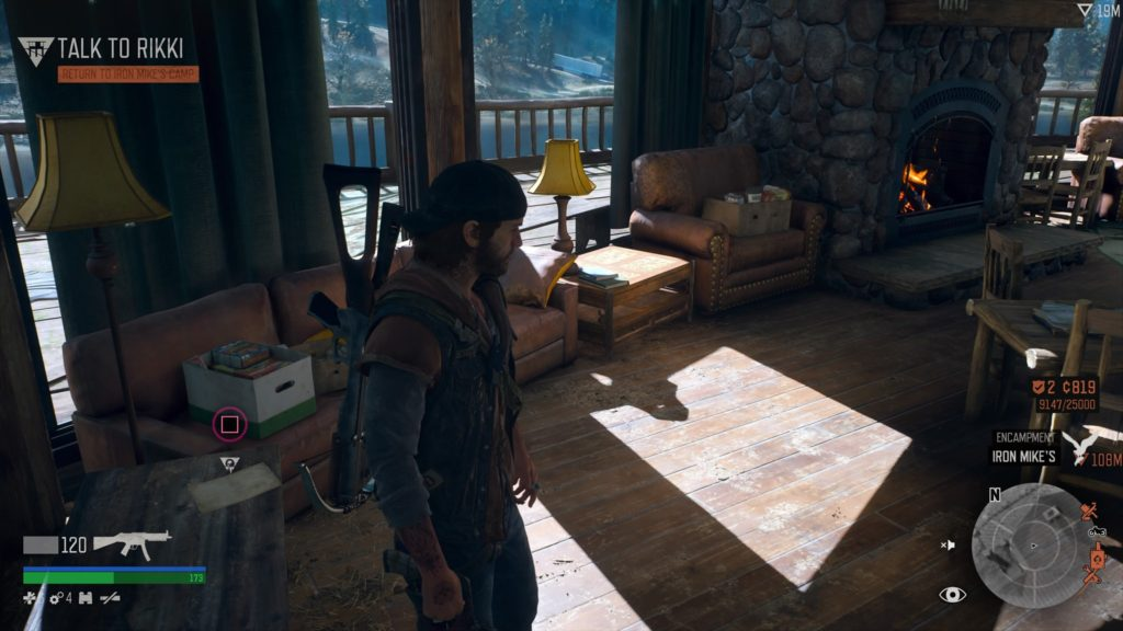 Days Gone Lost Lake Character Collectible Location 9