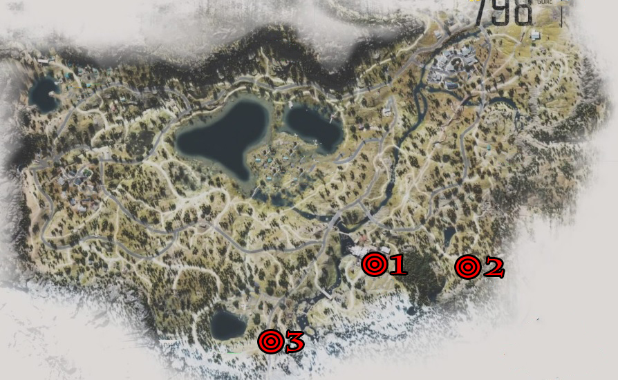 Days Gone Lost Lake IPCA Tech Locations Map