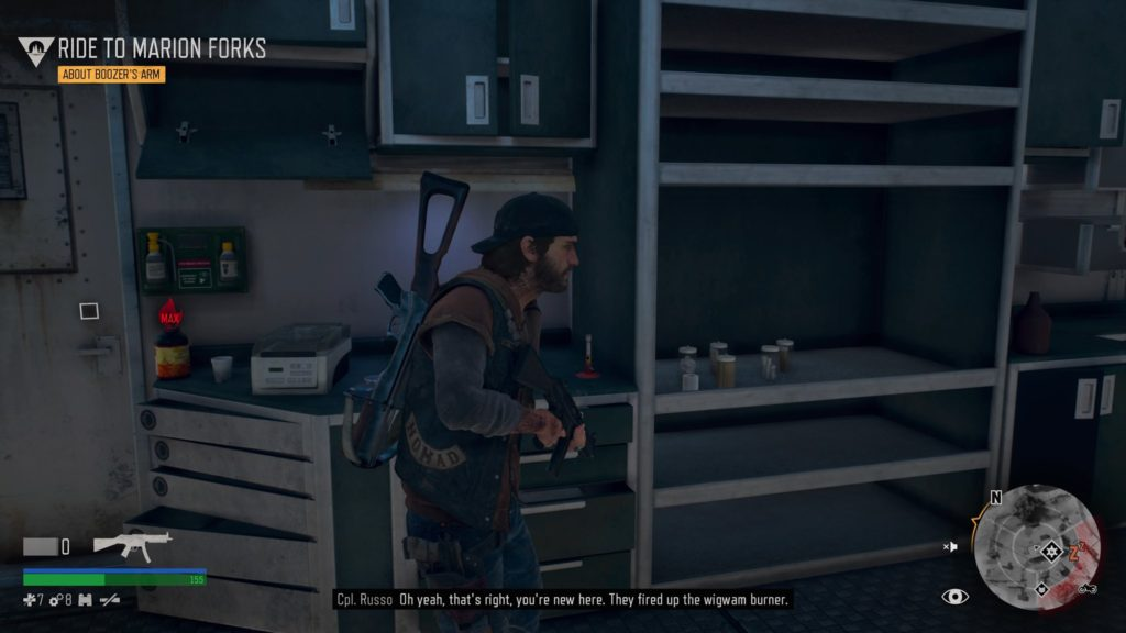 Days Gone Lost Lake Nero Intel Collectible Location 2