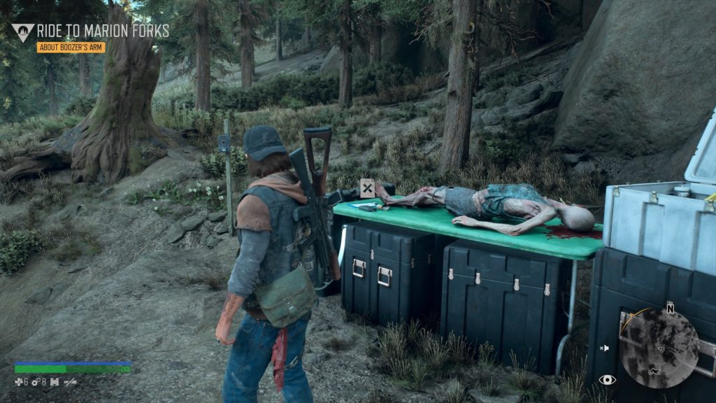 Days Gone Lost Lake Nero Intel Collectible Location 4