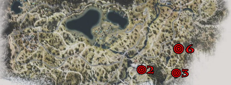 Days Gone Lost Lake Nero Intel Collectibles Locations Map