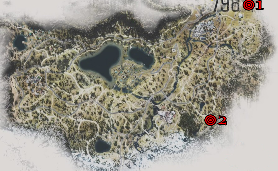 Days Gone Lost Lake Nero Research Sites Locations Map