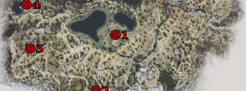 Days Gone Lost Lake Tourism Collectibles Collectibles Locations Map