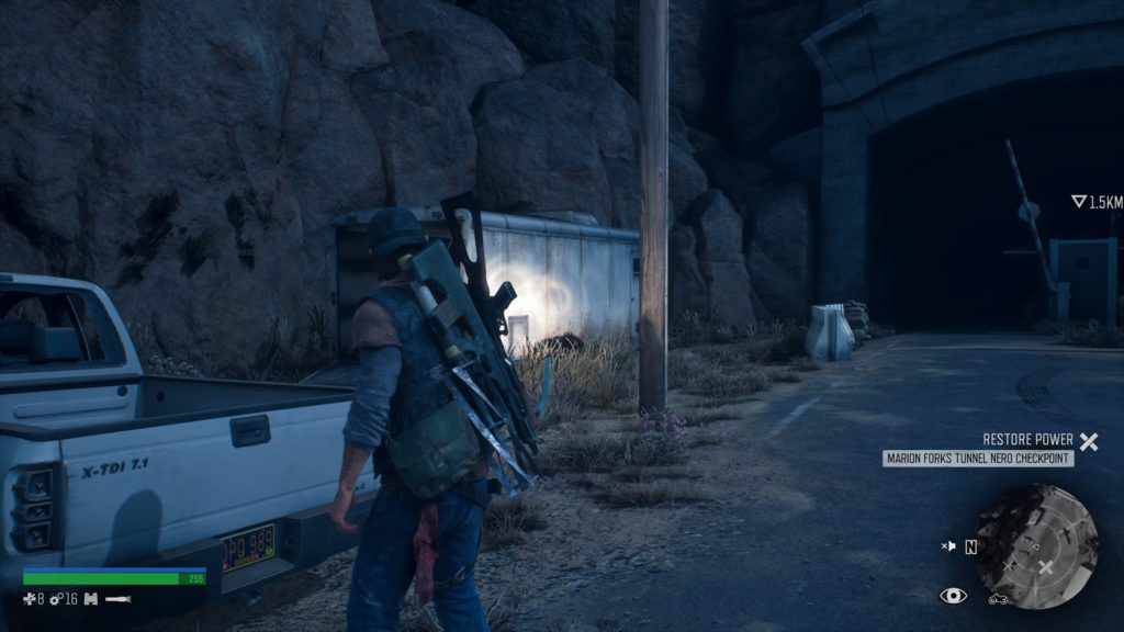 Days Gone Marion Forks Tunnel Nero Fuse Location