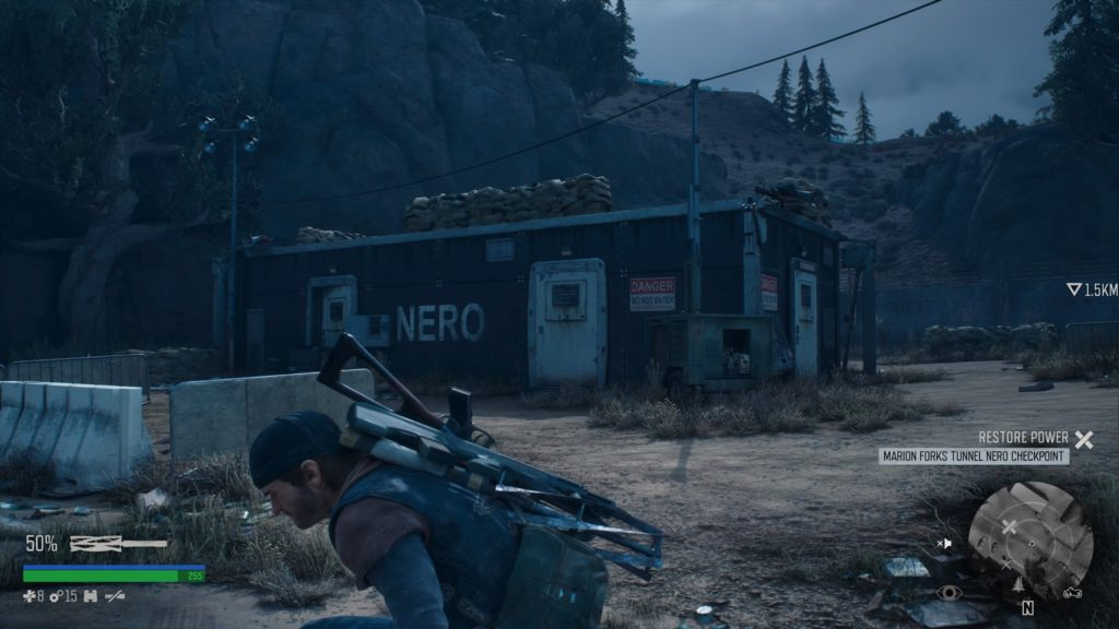 Days Gone How to get inside Marion Forks Tunnel Nero Checkpoint