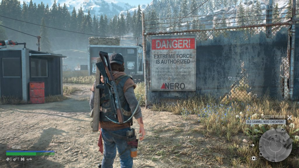 How to Get Inside Old Sawmill Nero Checkpoint Days Gone