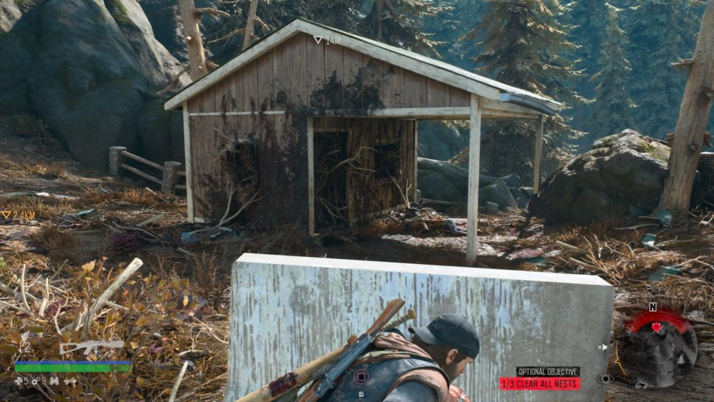 Days Gone Pioneer Cemetery Freakers Nest Location 2