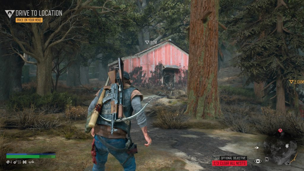 Days Gone Pioneer Cemetery Freakers Nest Location 3