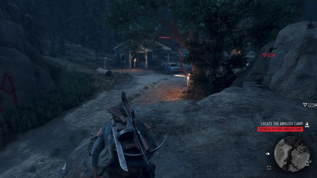 How to Get Inside Redwood RV Park Ambush Camp in Days Gone