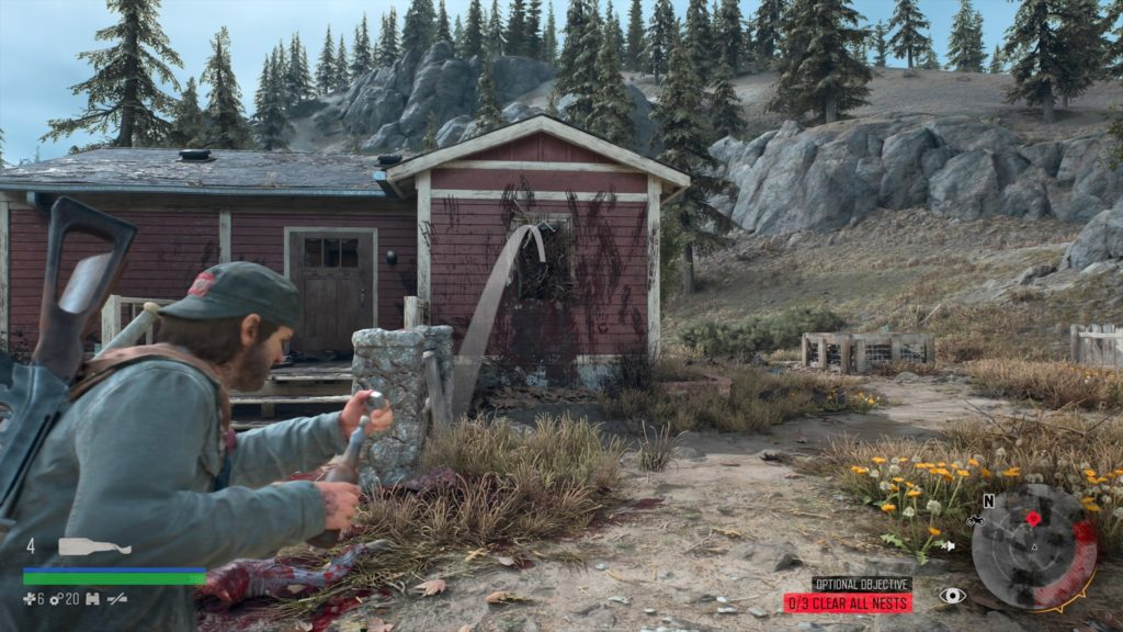Days Gone Rimview Ranch Infestation Nest Location 1