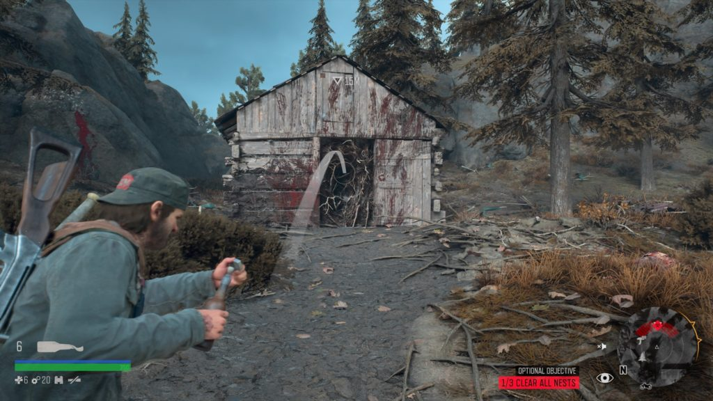 Days Gone Rimview Ranch Infestation Nest Location 2