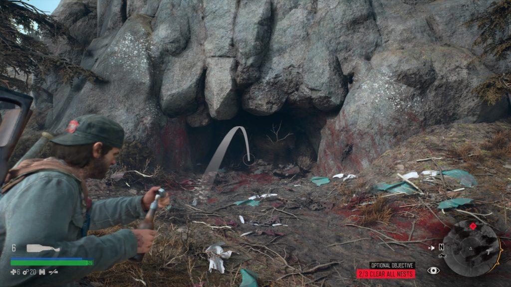 Days Gone Rimview Ranch Infestation Nest Location 3