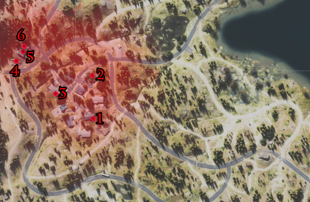 Days Gone Rogue Camp Infestation Nests Locations Map