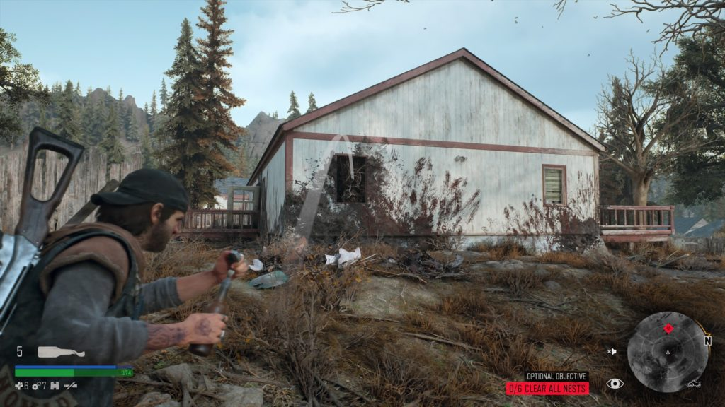 Days Gone Rogue Camp Infestation Nest Location 1