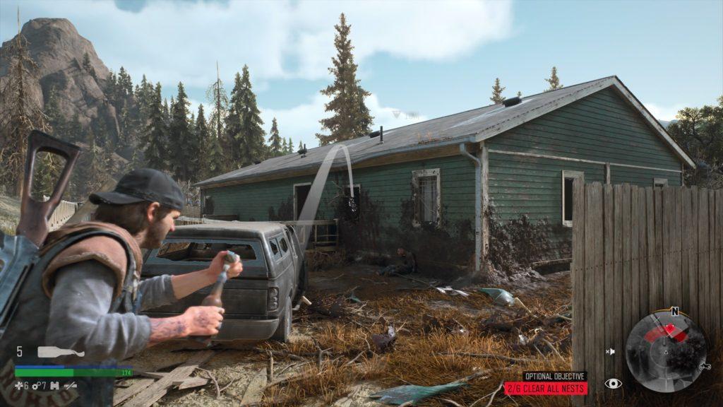 Days Gone Rogue Camp Infestation Nest Location 3