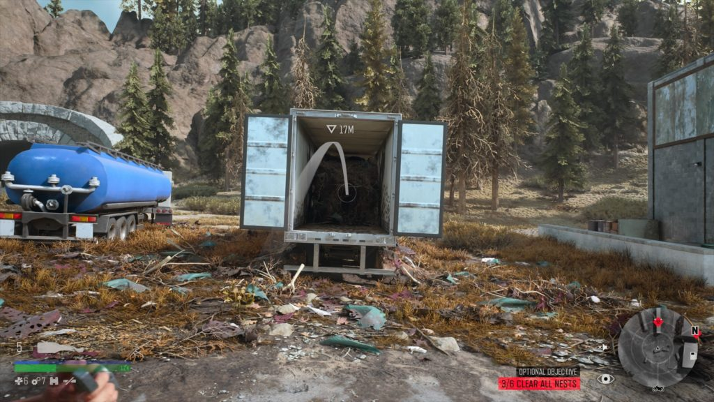 Days Gone Rogue Camp Infestation Nest Location 4
