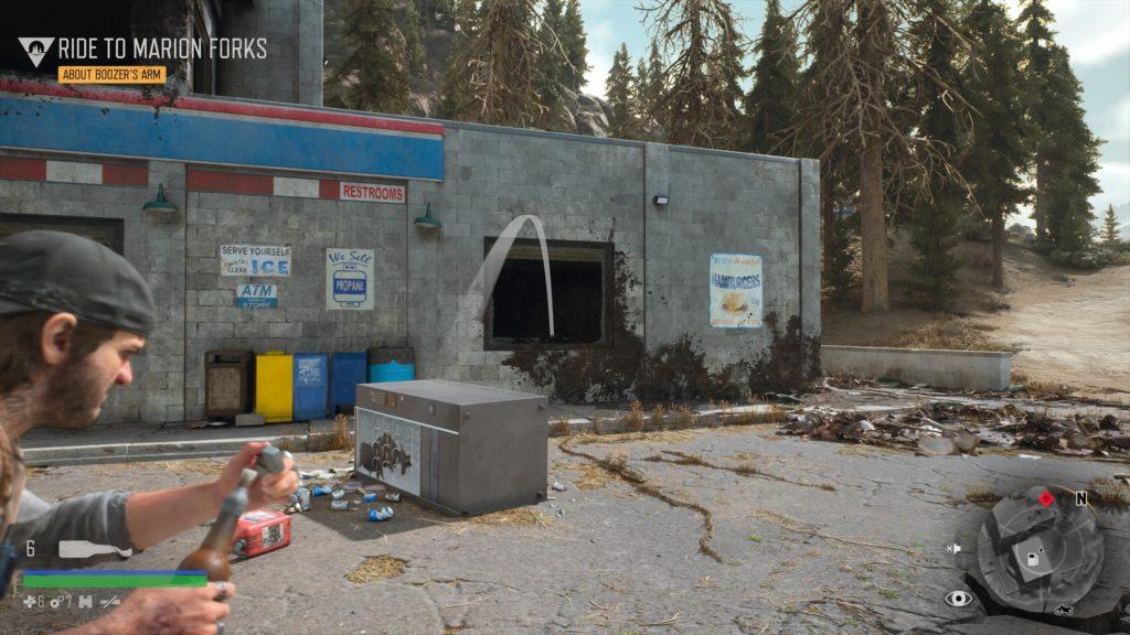 Days Gone Rogue Camp Infestation Nest Location 6