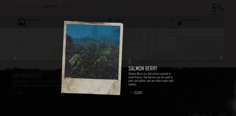 Days Gone: Salmon Berry Herbology Collectible Location Guide