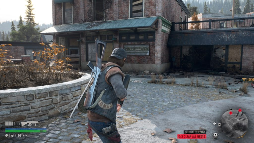 Days Gone Sherman's Camp Freakers Nest Location 2