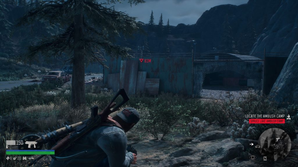 How to Get Inside Spruce Lake Ambush Camp in Days Gone