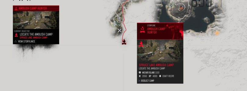 Days Gone Spruce Lake Ambush Camp Location
