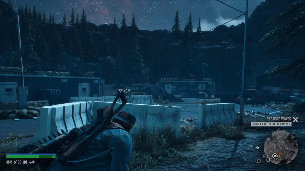 How to Get Inside Spruce Lake Nero Checkpoint Days Gone