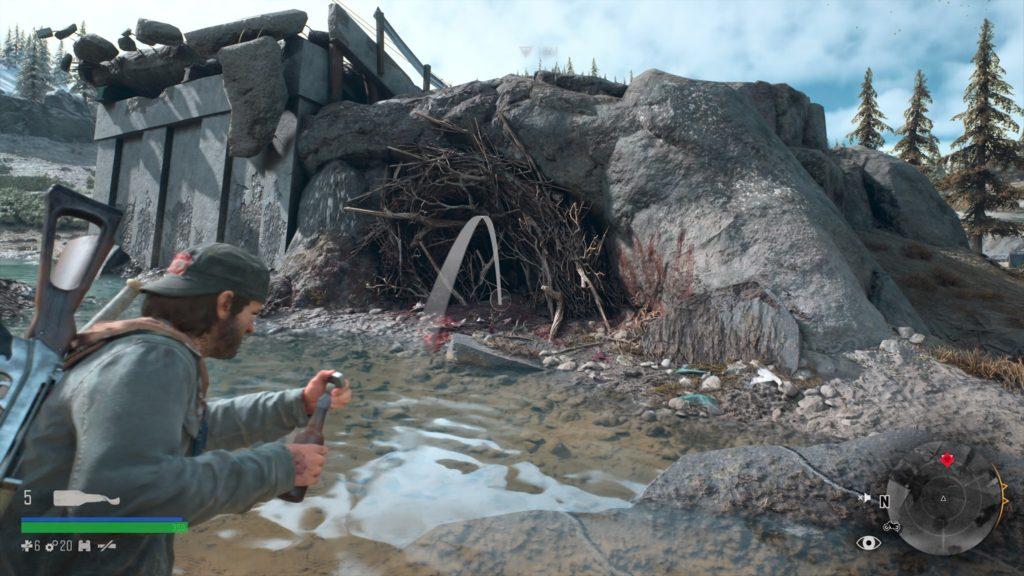 Days Gone Tumblebug River Infestation Nest Location 3