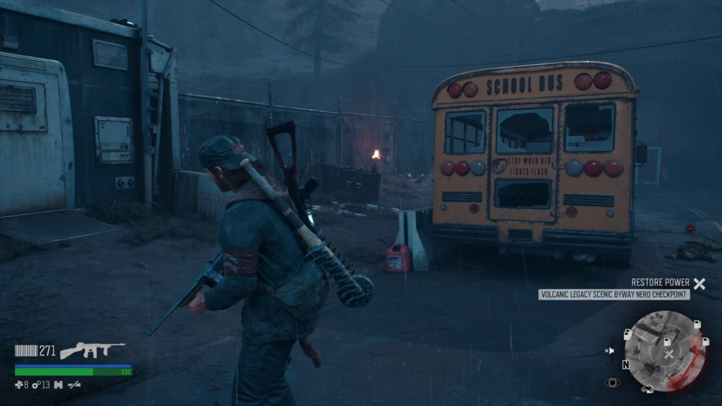 Days Gone Volcanic Legacy Scenic Byway Checkpoint Generator Fuel Location