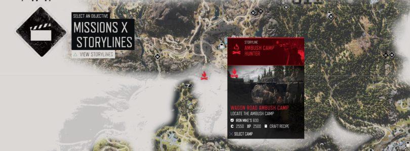 Days Gone: Wagon Road Ambush Camp Walkthrough