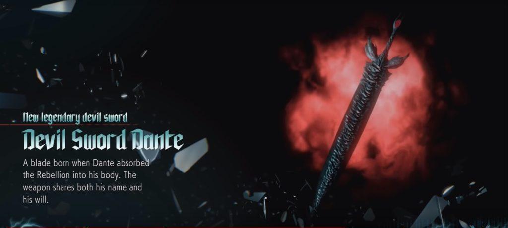 DMC5 Devil Sword Dante Secret Weapon Location