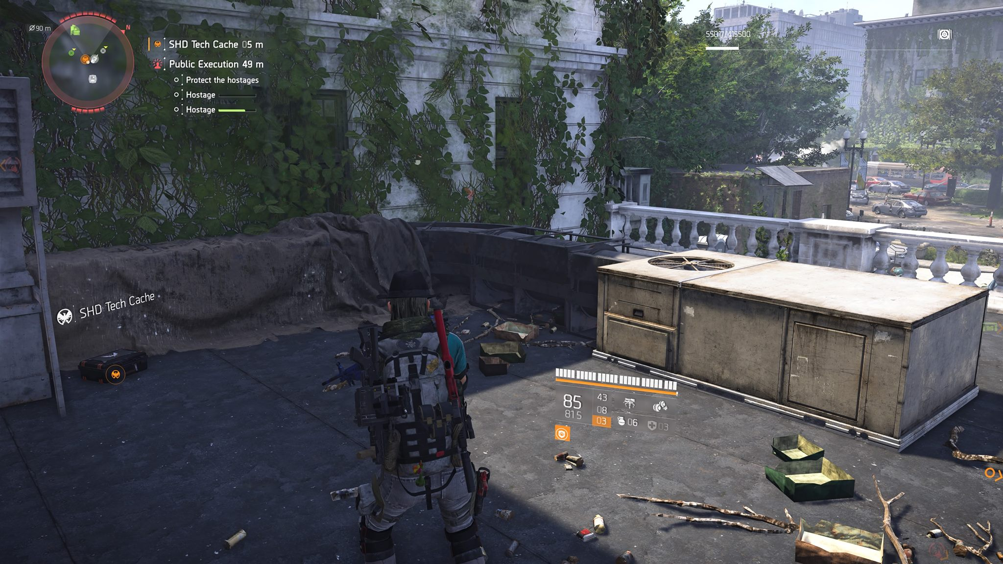 Constitution Hall SHD Tech Caches | Division 2 | Locations