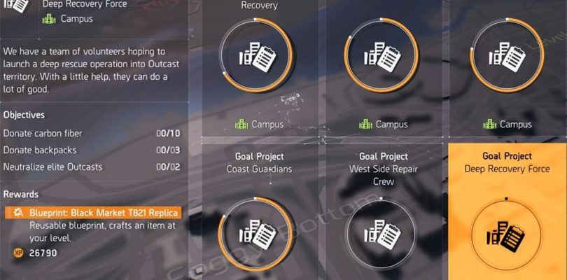 Division 2 Deep Recovery Force Project Guide