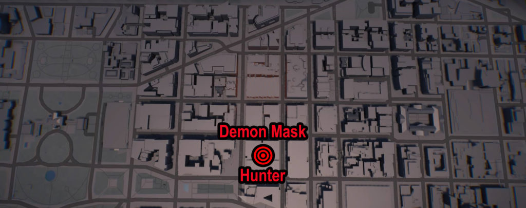 Tom Clancy's The Division 2 Demon Mask Hunter Location