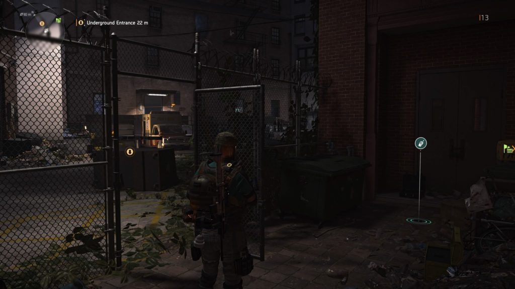 Division 2 Downtown East SHD Tech Cache Location 7