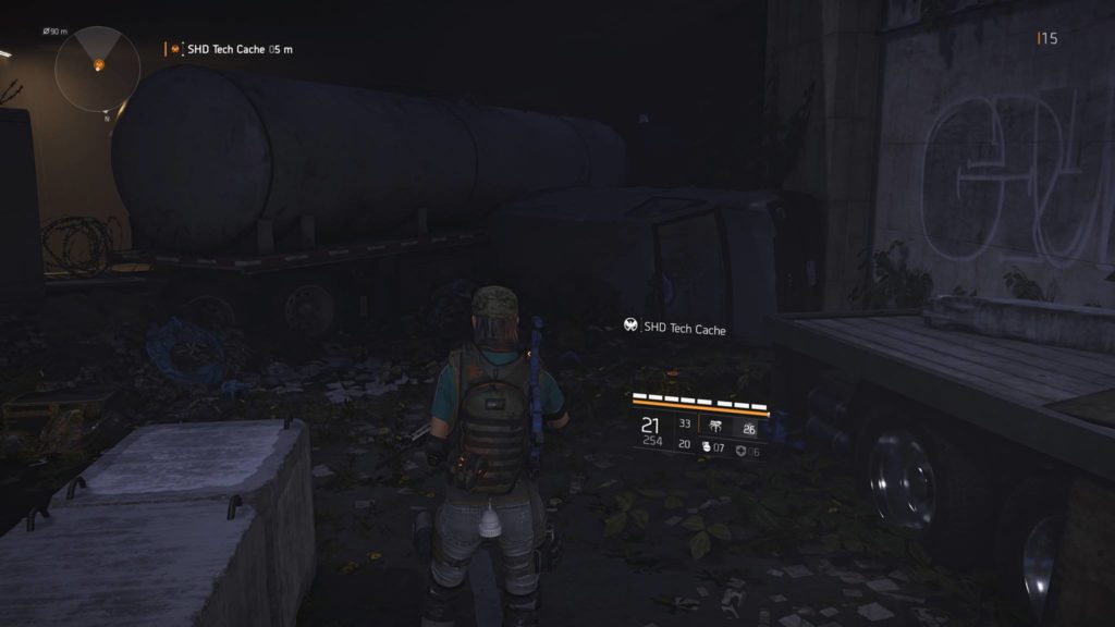 Division 2 East Mall SHD Tech Cache Location 1
