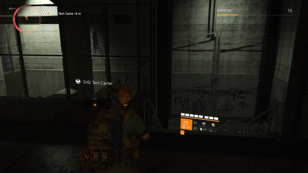 Division 2 East Mall SHD Tech Cache Location 4