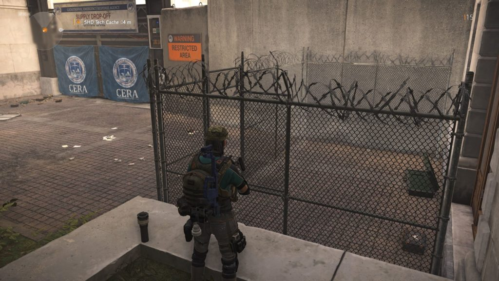 Division 2 Federal Triangle SHD Tech Cache Location 5