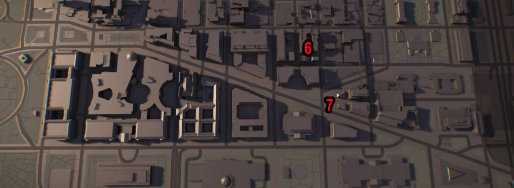 Division 2 Federal Triangle Theater Comms Locations Map