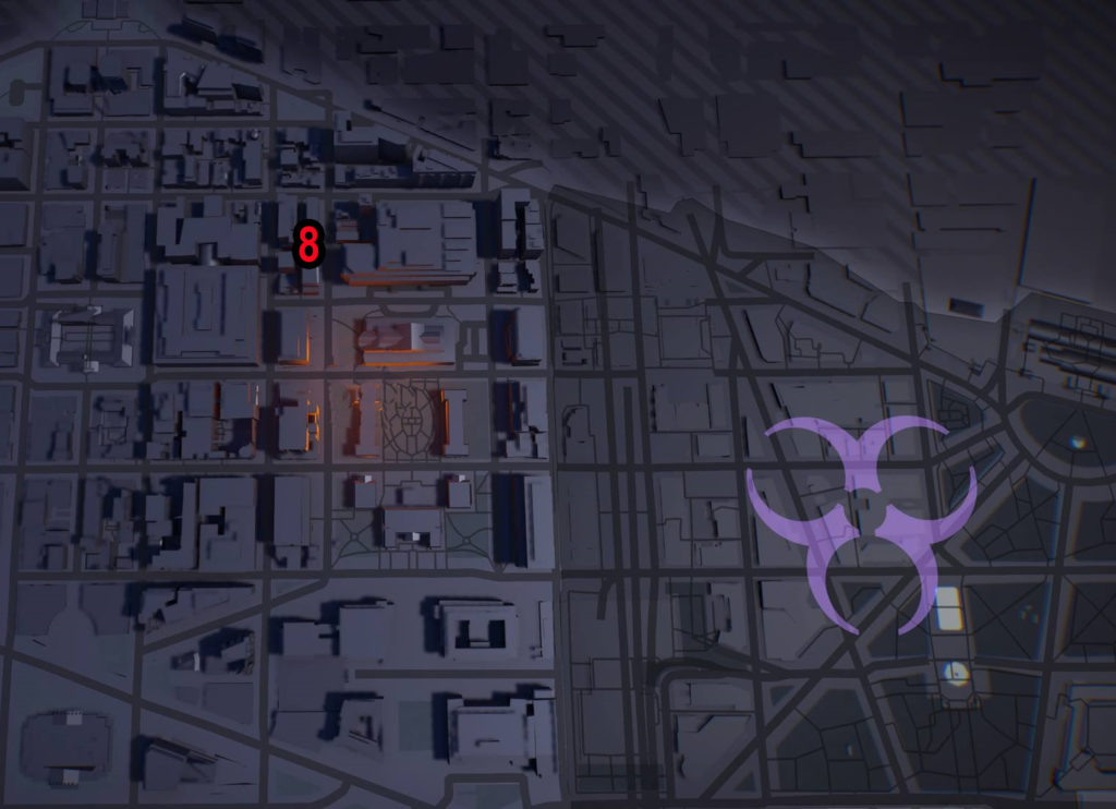 Division 2 Judiciary Square Theater Comms Locations Map