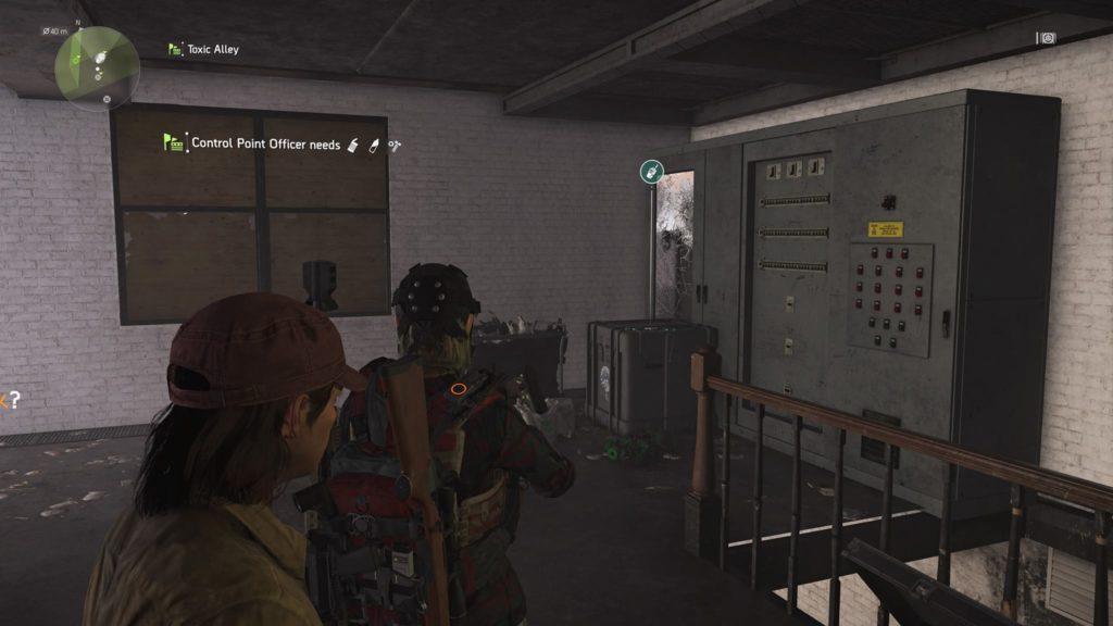 Division 2 Quarantine Staff Campus Comm Collectible Location