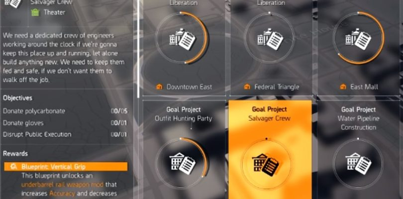 Division 2 Salvager Crew Project Guide
