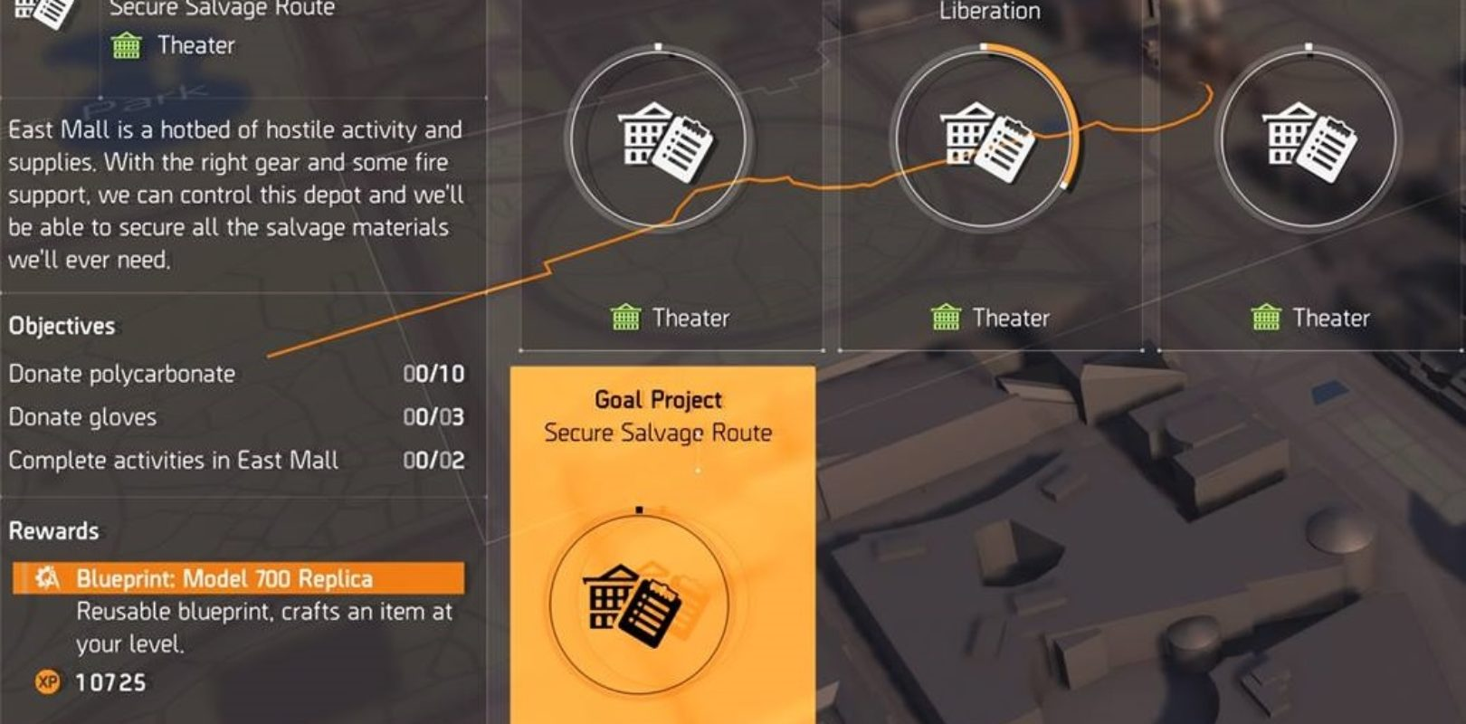 Secure Salvage Route | The Division 2 | Theater Project